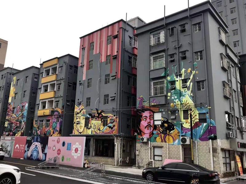 墙绘艺术(手绘墙)所需材料、制作方法、注意要点