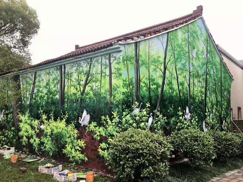 为大家介绍一下手绘墙的保养方法