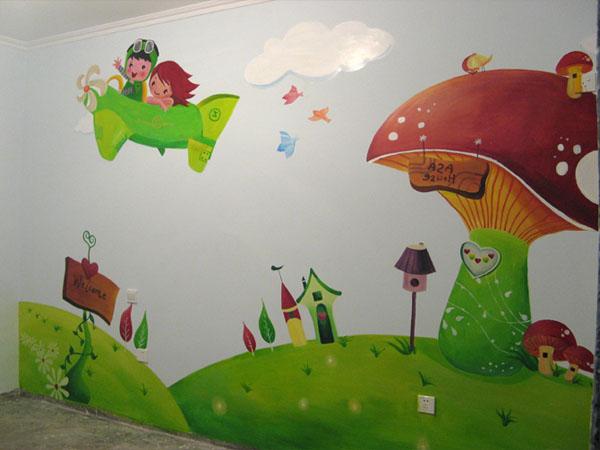 幼儿园墙体彩绘的时候需要注意哪些问题呢?