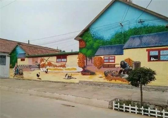 南昌新农村墙绘,南昌墙绘公司,南昌学校墙体绘画,南昌手绘涂鸦,南昌农村墙绘