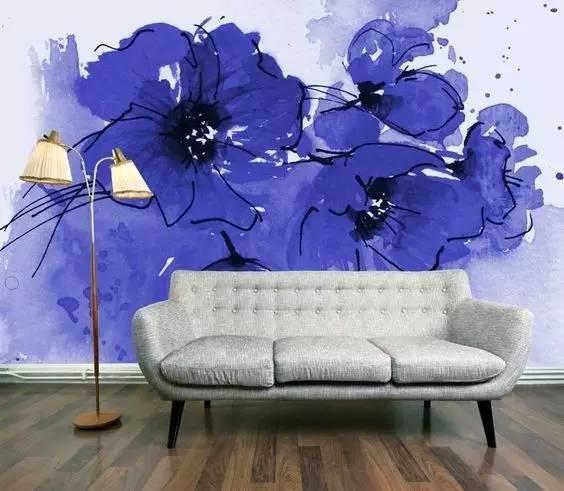 南昌彩绘墙手绘,南昌装饰画手绘