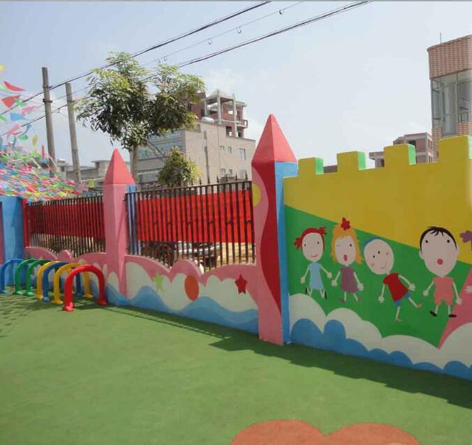 南昌古建彩绘,南昌幼儿园手绘墙画